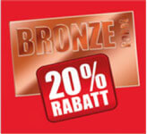 <h4>Bronze - package: 20% discount</h4><p>on used tyre disposal and tyre gas</p>