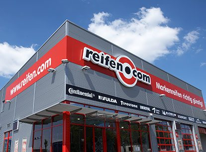 All reifen.com branches